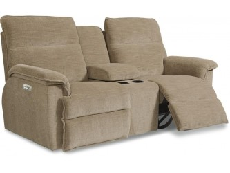 Jay La-Z-Time Full Reclining Loveseat W/ Middle Console