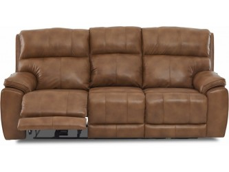 Omaha Leather Reclining Sofa w/Power