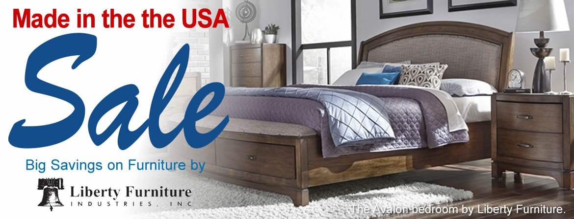 Made in the USA Sale - Liberty Furniture