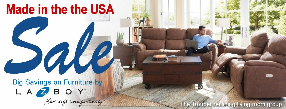 Made in the USA Sale - La-Z-Boy Furniture