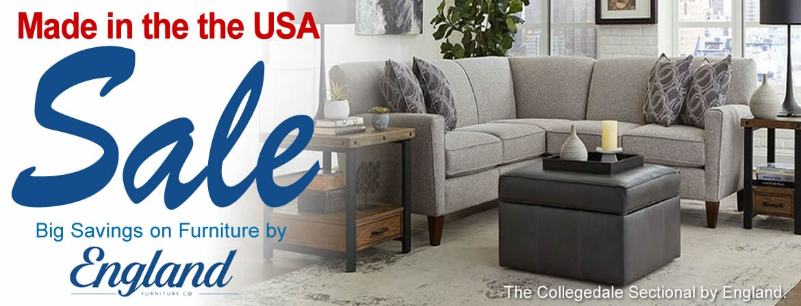 Made in the USA Sale - England Furniture